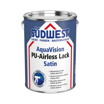 AquaVision® PU-Airless Lack Satin